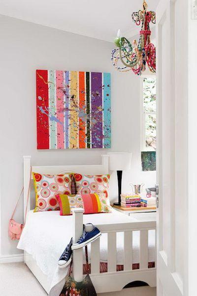 Chambre d'enfant : une façon simple de mettre de la couleur !