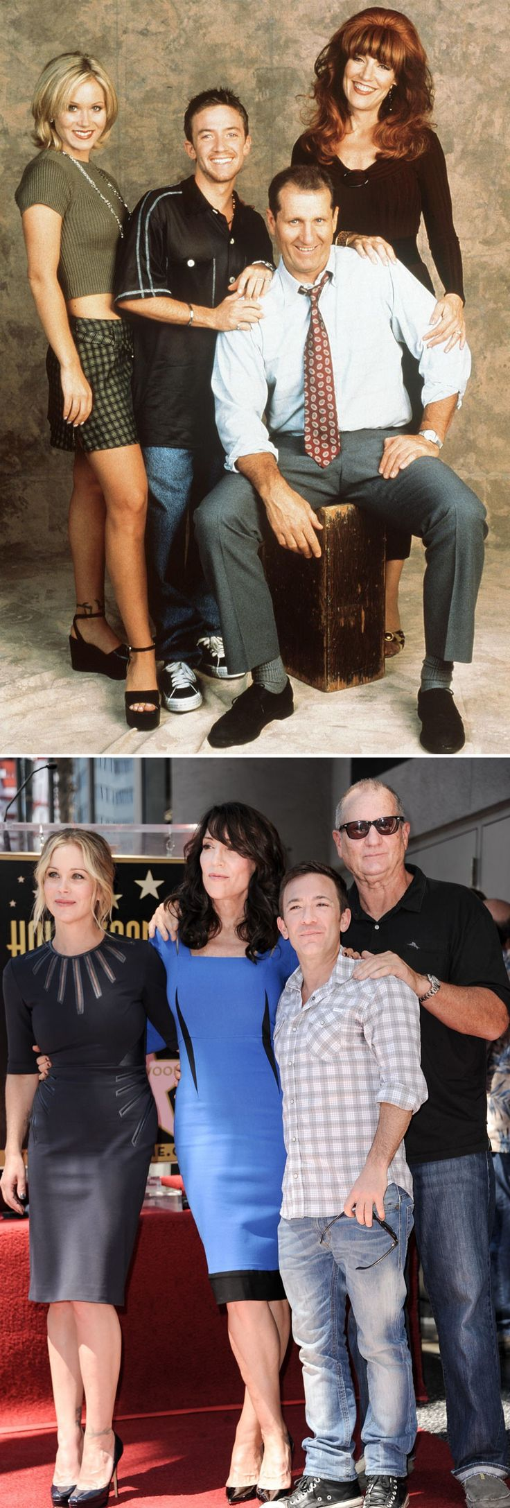Married with Children ran for 11 season from 1987 to 1997 and followed the lives of the Bundy family and stars Katey Sagal, Ed O'Neill, Christina Applegate and David Faustino. The four of them were reunited in 2014 on the red carpet.