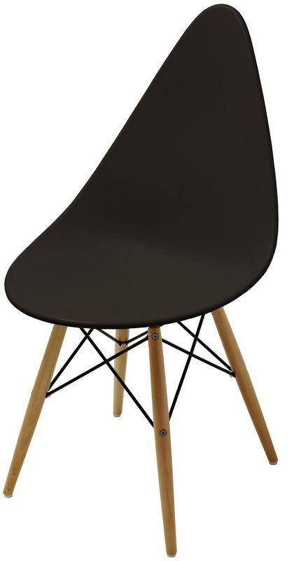Стул Оттава черный пластик стулья из пластика пластиковые стулья 4ugla.com.ua