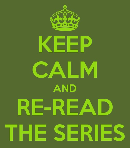 ...re-read the series