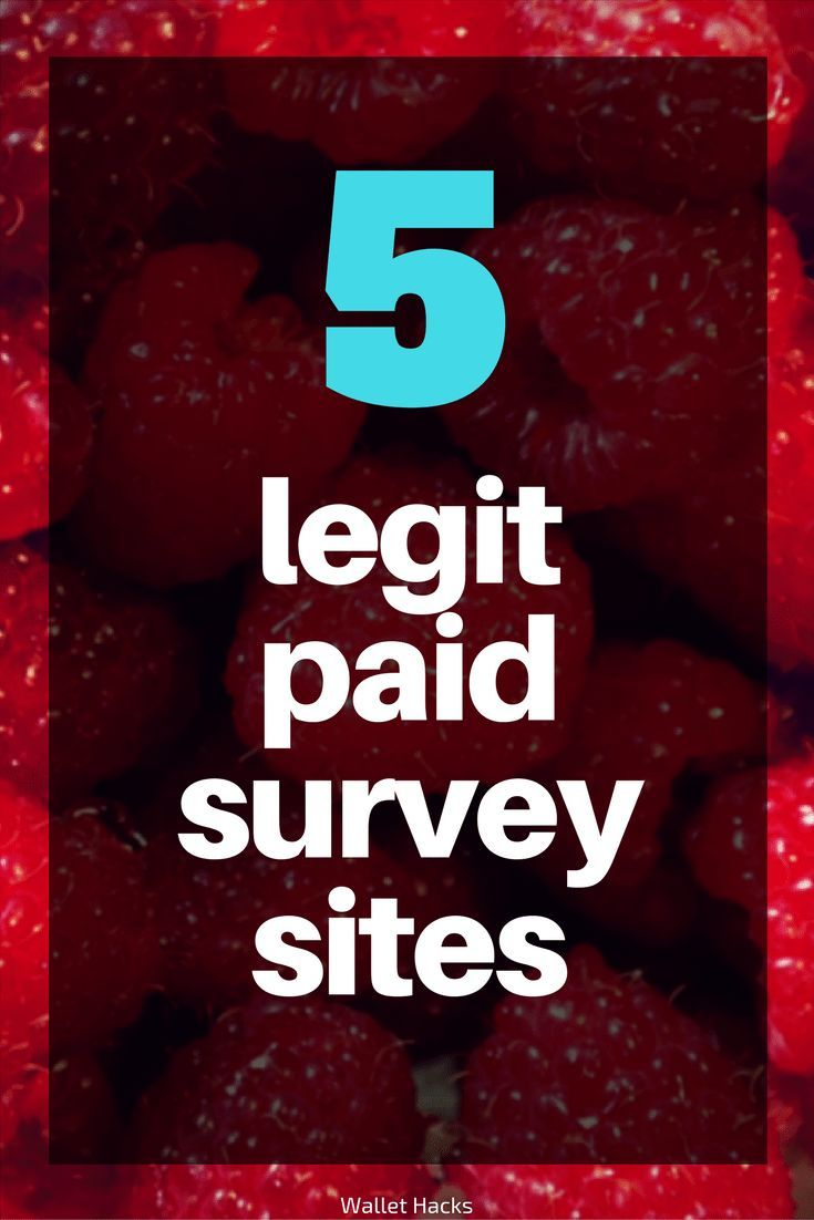 The only 5 legitimate paid survey sites you need …