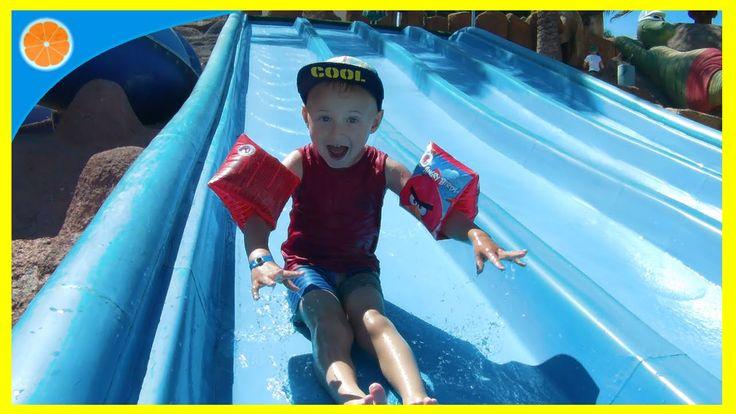 Dino water park fun at Paradise Island, Lanzerote   Blue Orange