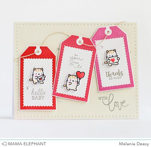 mama elephant | design blog: STAMP HIGHLIGHT : CRAFTY LABELS