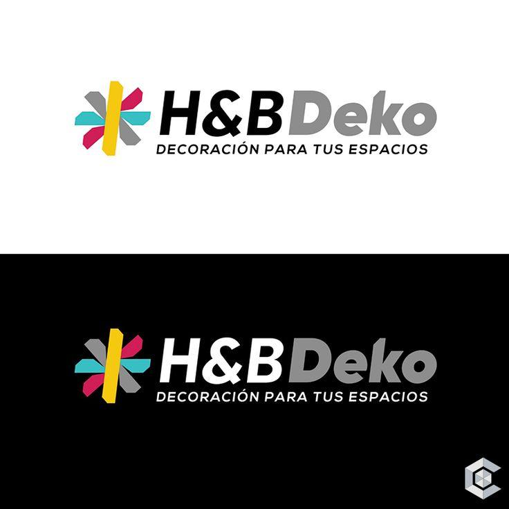 Marca y naming para nuestros clientes de H&B Deko #HBDeko #Diseño #Naming #Emprendedores #Desarrollo #Marketing #Branding #Creactiva #antesydespues #GraphicDesign
