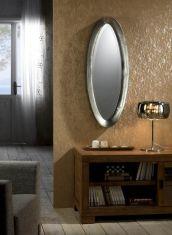 Espejo Ovalado de Diseño Metálico : Colección EBLA