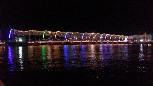 Our beautiful floating bridge !