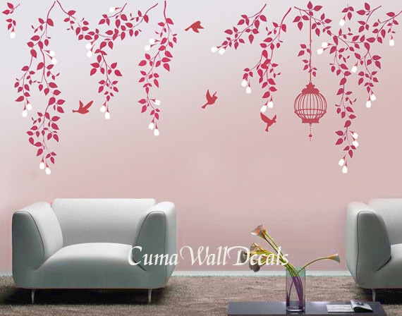 Tree wall decals branch wall decals