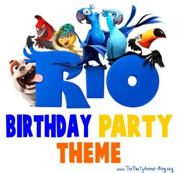 Rio Birthday Party Theme from www.thepartyanimalblog.org/rio-birthday-party-theme/#