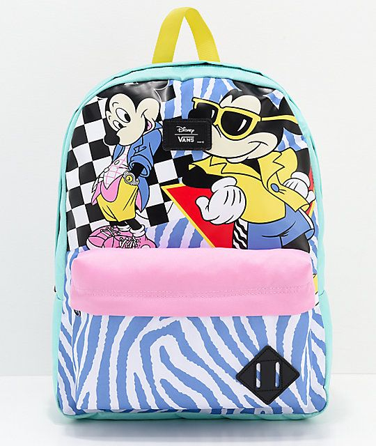 eb729007ea Disney by Vans 80 s Mickey Old Skool II Backpack in 2018