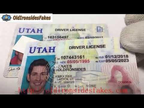 New Utah Fake ID review   fake id