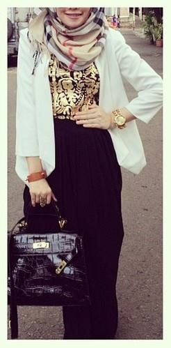 __ ❤ hijab style