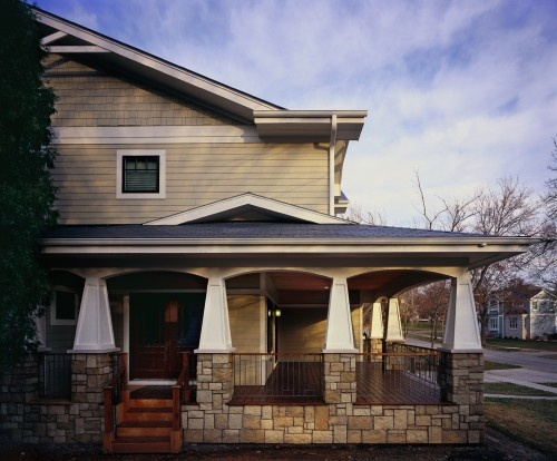 1000 images about exterior on pinterest craftsman style for Bungalow columns