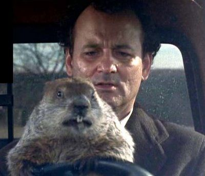 """It's a testament to """"Groundhog Day"""" (1993) that I watch it at least once a year and it still cracks me up and, more than that, makes me think about what I would do if I were in Phil Connors' shoes. I'll tell you what I wouldn't do: drive angry."""