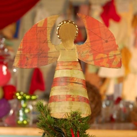 A great project to make with the kids, this heavenly finishing touch is a snap to create.