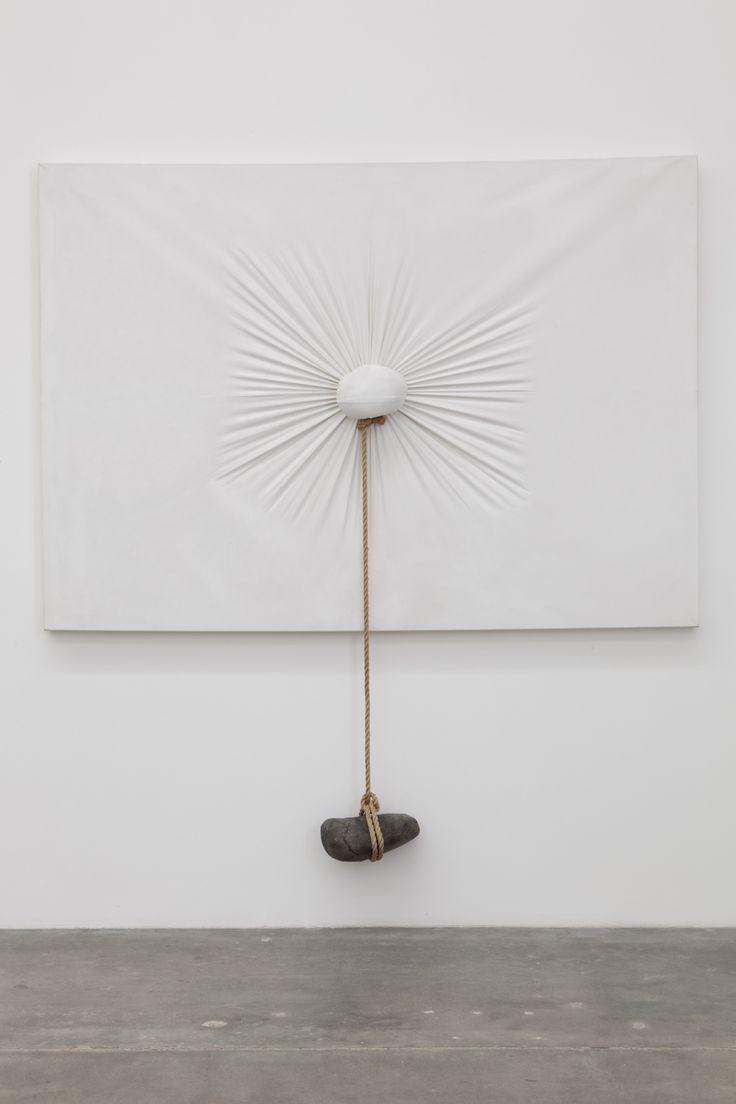 Nobuo Sekine / Phase of Nothingness-Cloth and Stone, 1970/1994