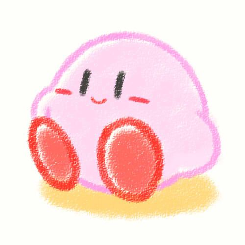 Kirby! This makes me smile. I'll always have a soft spot for this little cutie.