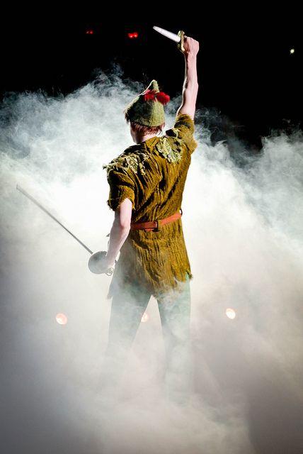 Peter Pan-- I do believe in fairies! I do! I do!