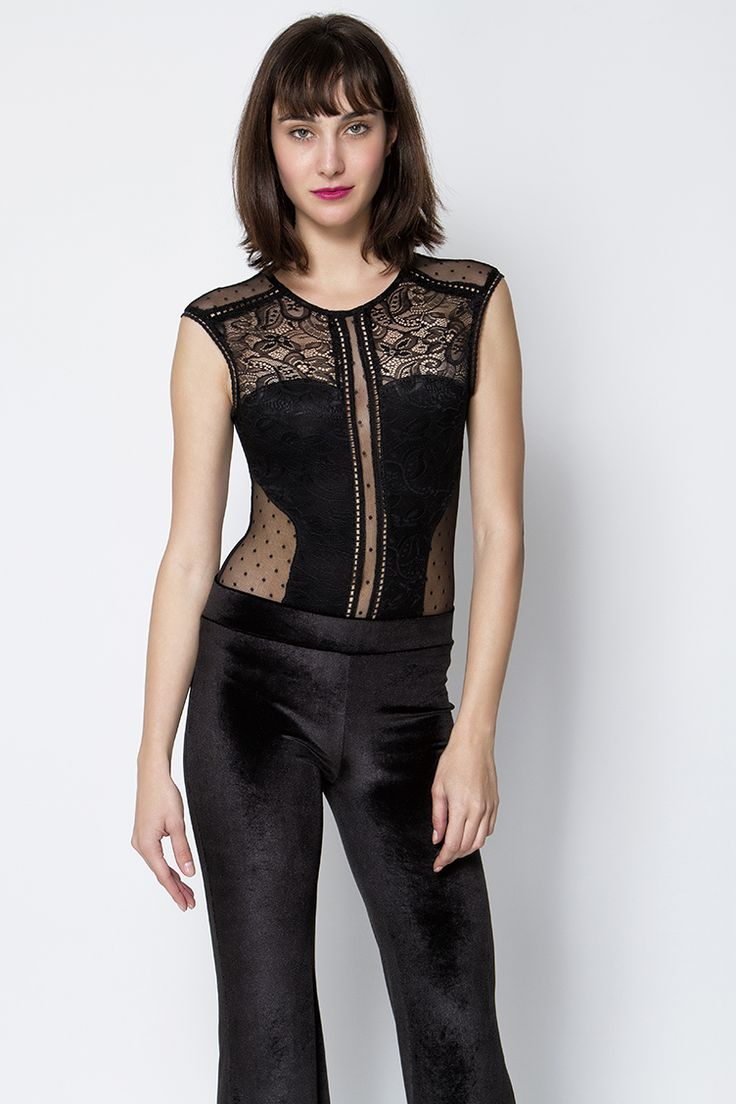 Lace Κορμάκι - ΡΟΥΧΑ -> Μπλούζες   Made of Grace