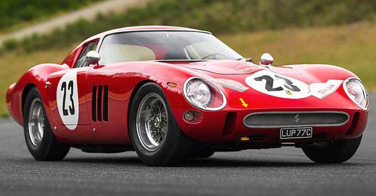 Une Ferrari a été vendue aux enchères plus de 40 millions d'euros