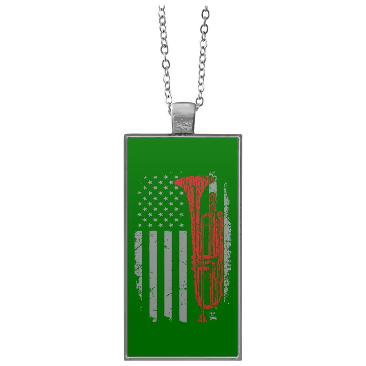 American Bass Trumpet Necklace