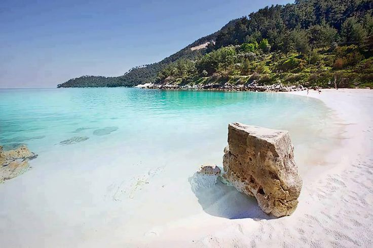 Saliara beach, Thasos island, Greece