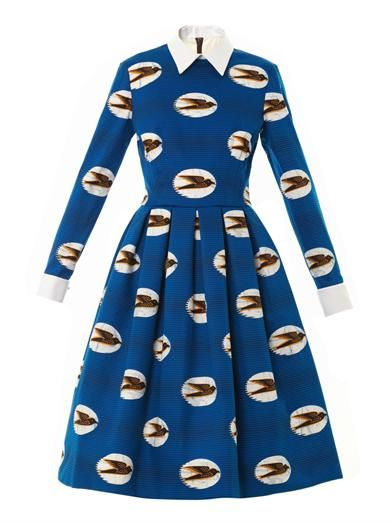 Stella Jean Angelica swallow-print dress OH MY LORD, quite possibly the most awesome dress EVER