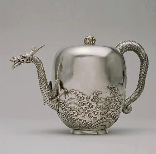 Dragon Teapot By Miyata Nobukiyo c. 1878