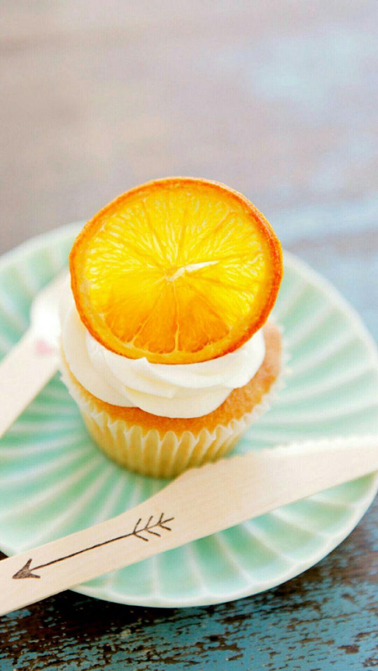 Orange cakes, lovely