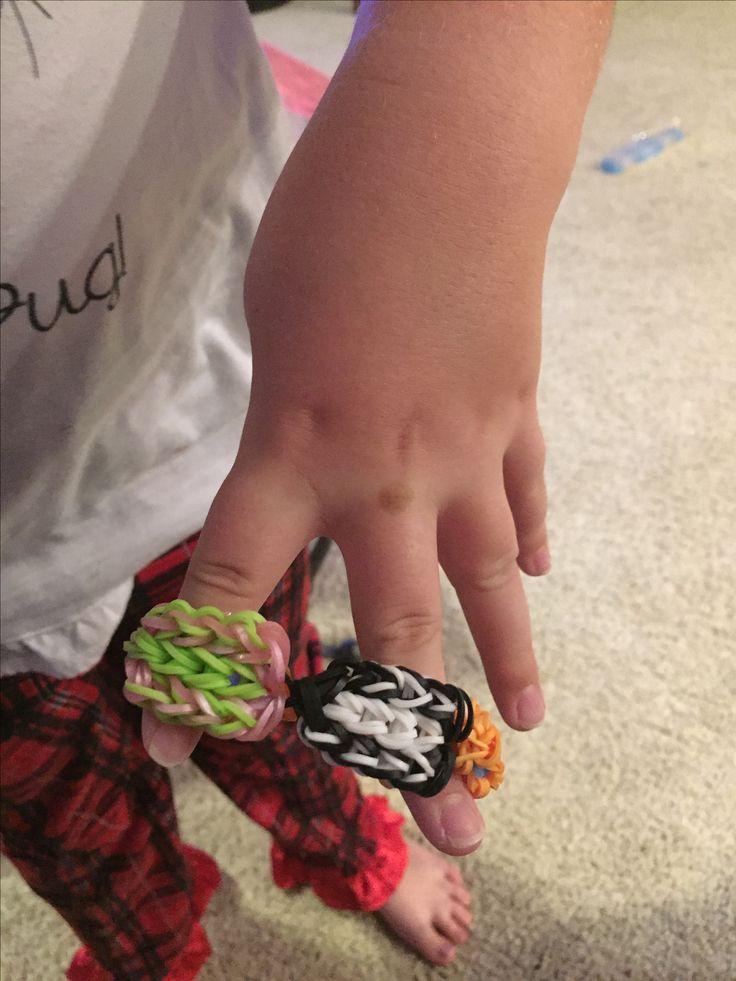 Pop Tart loomed bracelet