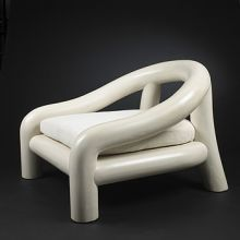 lounge chair by Michael Taylor silla tubo caño organico