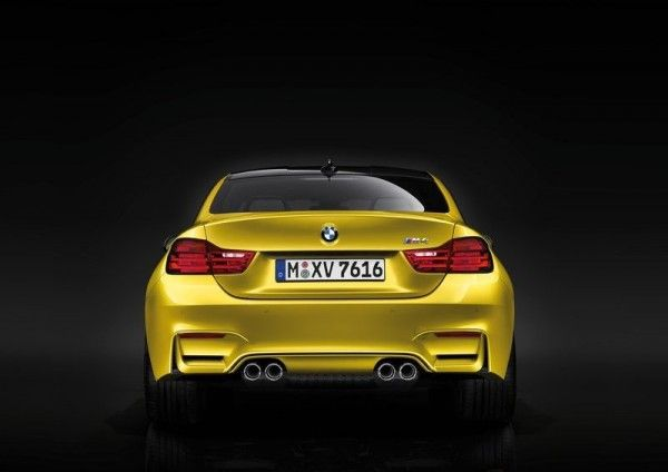 2015 BMW M4 Coupe Rear View 600x424 2015 BMW M4 Coupe Full Reviews with Images