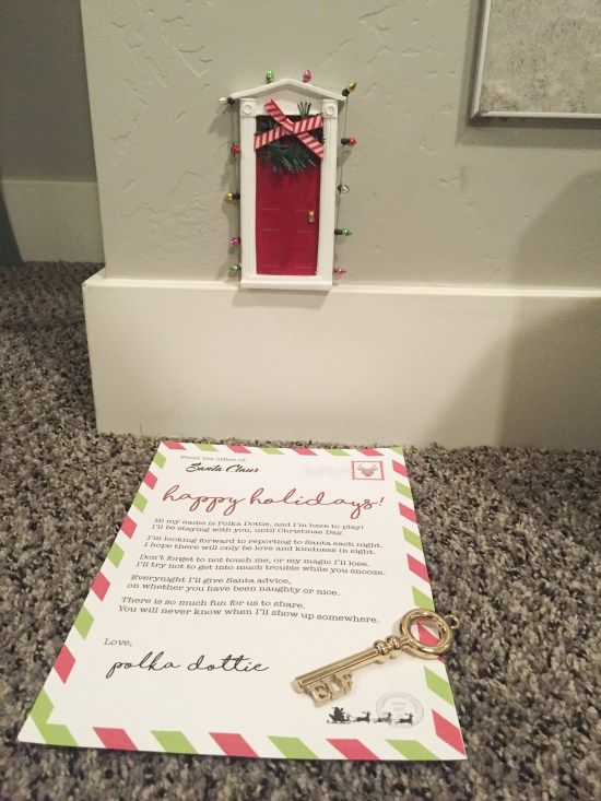 Here is my Elf on the Shelf Arrival Letter available for free download. I have taken out our elf's name and left a space for you to customize it with yours. Also here are some Elf on the Shelf ideas that we have done the past few days