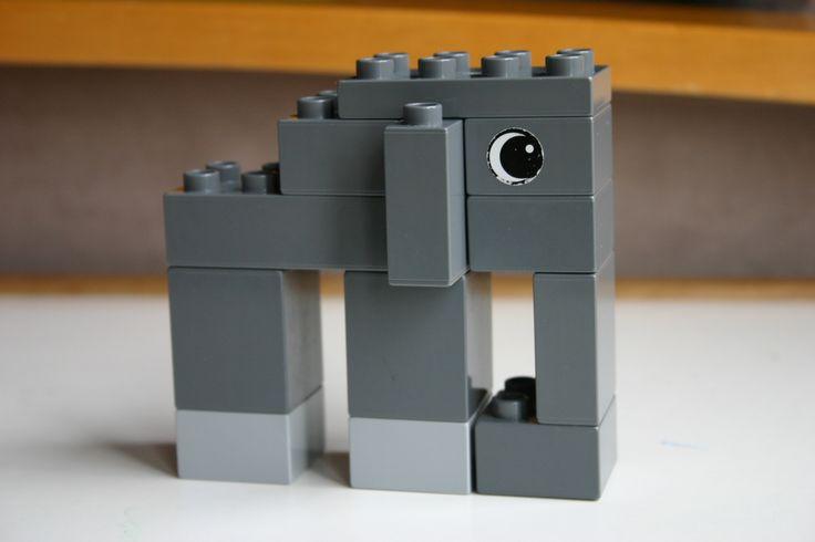Duplo Block Elephant