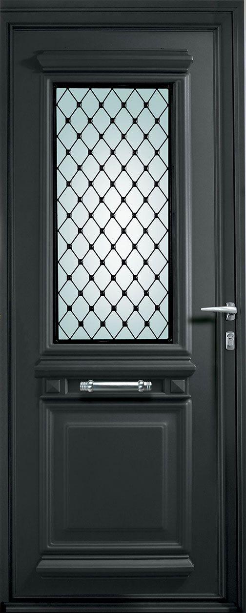 Porte d'entrée alu Résidence Tendance - Fabricant de portes d'entrée en aluminium
