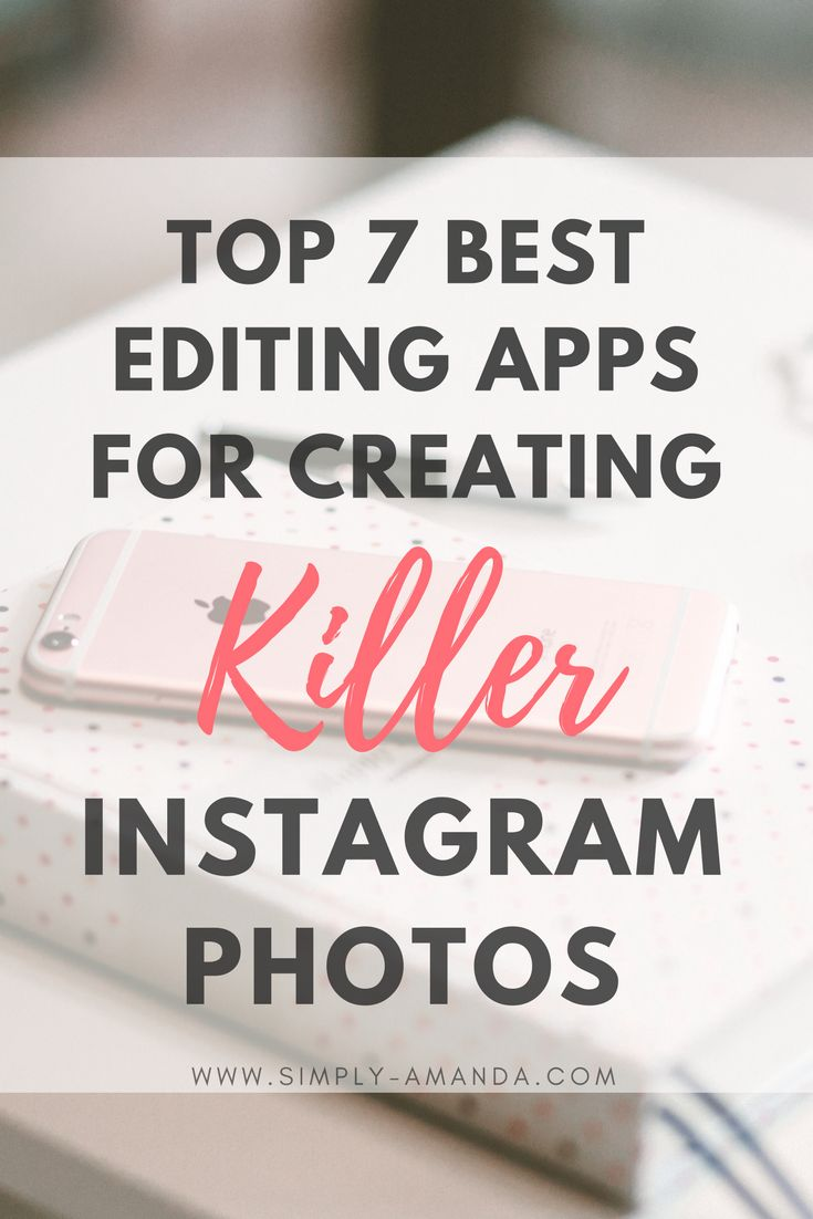 Everyone knows that your photos on Instagram make a lasting impression when someone first lands on your page to follow you. Click here to find out the top 7 best photo editing apps for creating killer Instagram photos to up your social media presence!