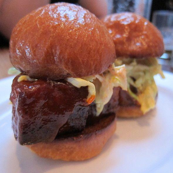 BBQ Pork Belly Sliders - http://www.tastedthis.com/2013/02/09/bbq-pork ...