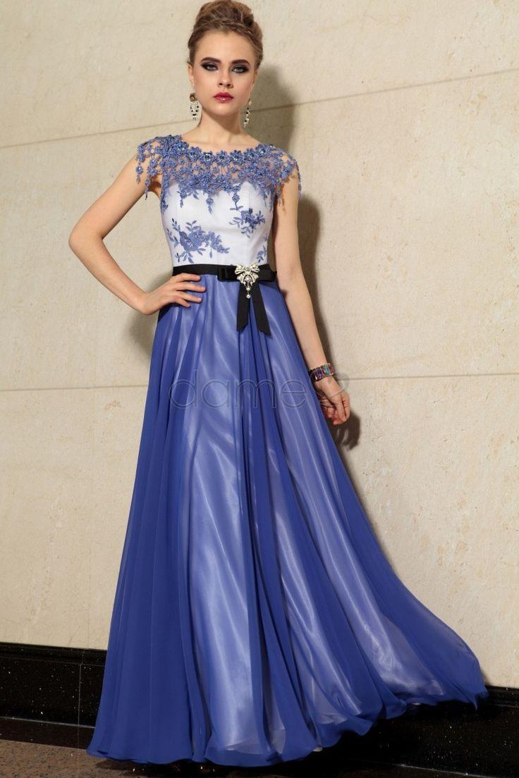105 best Abendkleider images on Pinterest | Formal prom dresses ...