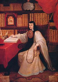 Sor Juan Inés de la Cruz was a Mexican Poet and Nun. She was born in 1651 and died in 1695 at the age of 43.