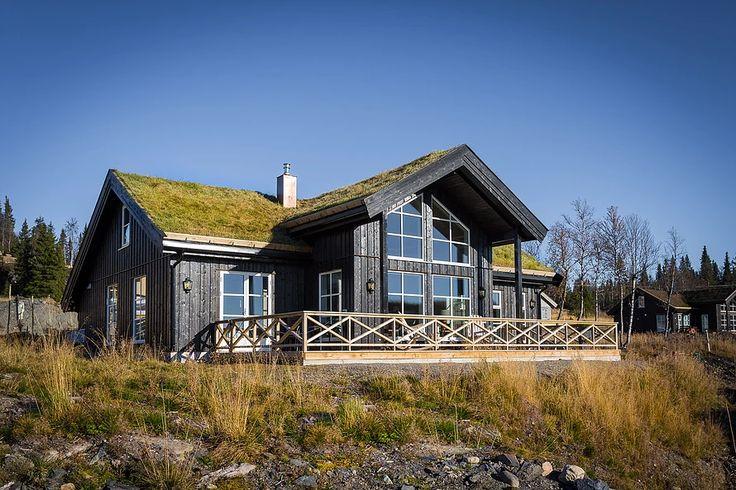 Bildegalleri av hyttemodeller fra Nordlyshytter.