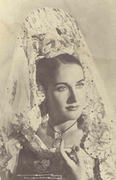 Estrellita Castro. Las actrices de España.