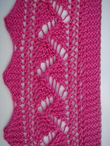 Knitting Edges And Borders : Images about knitting edgings borders on