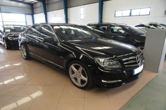 Mercedes C 220 CDI AMG de ocasión en Coruña cambio automático del año 2012, con xenon, cuero etc.. por 29.900 € www.buscocoches.es #cochesdeocasión
