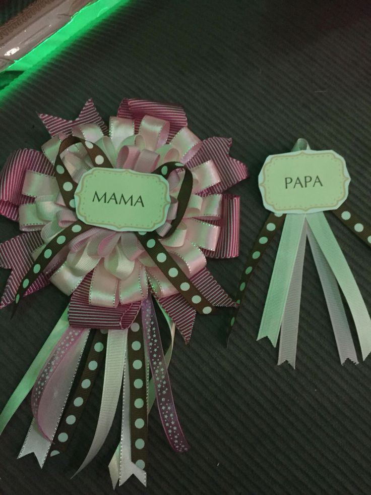Badge mom to be and daddy to be