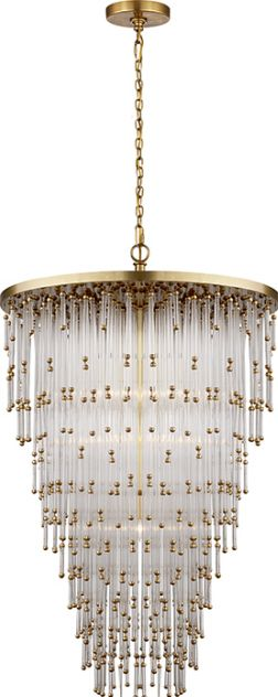 Mia Chandelier from Visual Comfort. Available for pre-order. shop219.com