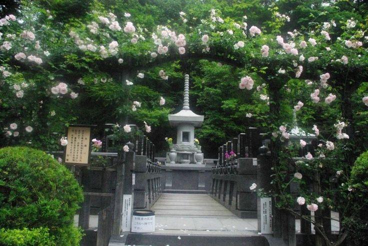 Buddhist garden at Entsu-in temple, Matsushima.