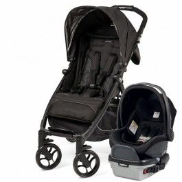 Travel system consist of Booklet light stroller and Primo Viaggio 4-35 Infant Car Seat.<br/>Car seat can be attached directly to the stroller's retractable anchors, without adapters.
