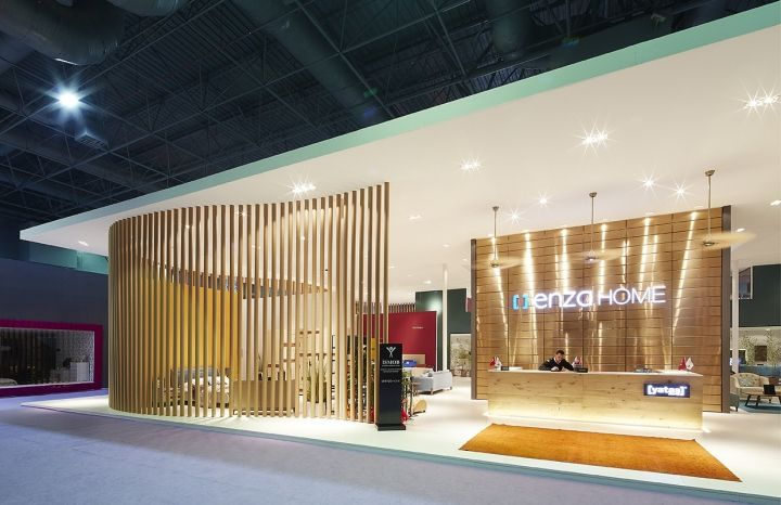 Exhibition Stand Design Materials : Yataş grup enza home stand by yerce architecture at ismob