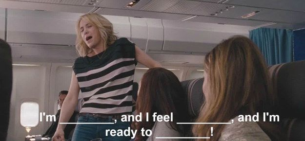 "How Well Do You Remember The ""Bridesmaids"" Airplane Scene"