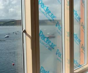 Packexe Glass and Glazing can be used to protect window surfaces during DIY, or repainting windows
