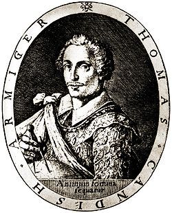 Thomas Cavendish - Capturo el Galeon de Manila.Santa Ana